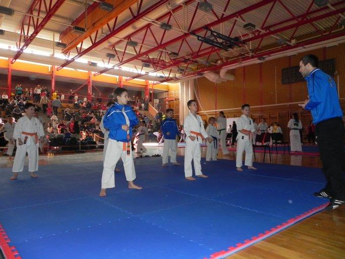 Elsők lettek az újbudai Kyokushin Karatésok a Diákolimpián és a Magyar Bajnokságon